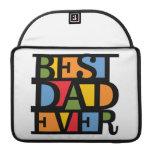 BEST DAD EVER MacBook sleeves MacBook Pro Sleeves