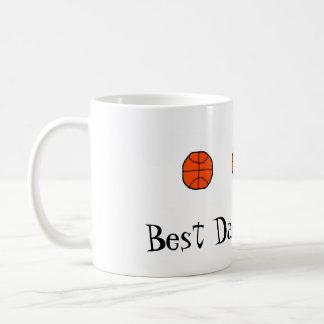 Best Dad....Ever! Mug (Basketball)