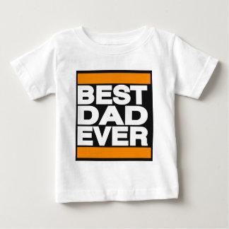 Best Dad Ever Orange Baby T-Shirt