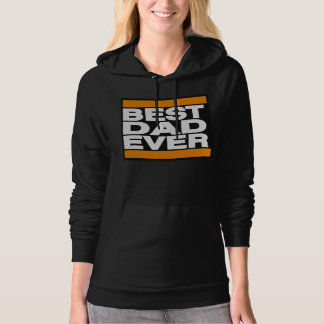 Best Dad Ever Orange Hoodie
