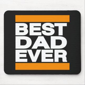 Best Dad Ever Orange Mouse Pad