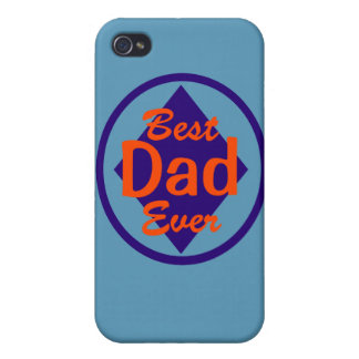 Best Dad Ever Personalized iPhone 4/4S Covers