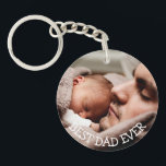 "Best Dad Ever Personalized Photo Key Chain<br><div class=""desc"">Best Dad Ever Personalized Photo Key Chain</div>"