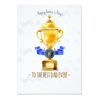 Best Dad Ever Photo Card