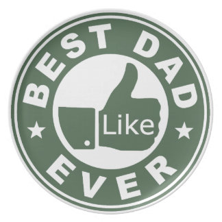 Best Dad Ever Plate