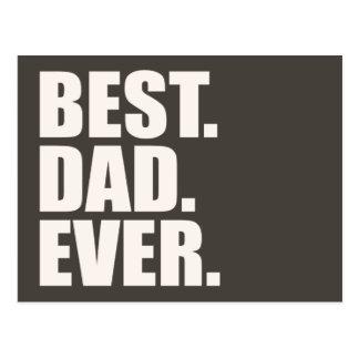 Best. Dad. Ever. Postcard