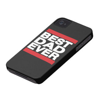 Best Dad Ever Red iPhone 4 Cover