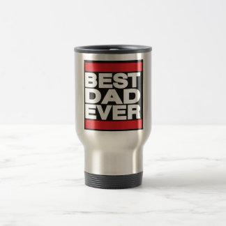 Best Dad Ever Red Travel Mug