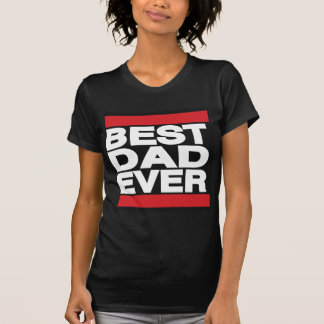 Best Dad Ever Red T-shirts