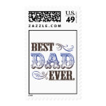 Best Dad Ever stamps