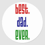 best dad ever stickers