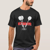Best dad ever t shirt with darts | Fathers day