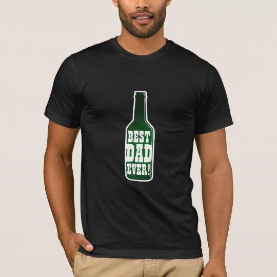 Best Dad Ever! tee shirt | Vintage beer bottle