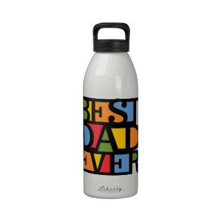 BEST DAD EVER water bottles