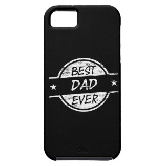 Best Dad Ever White iPhone 5 Cases
