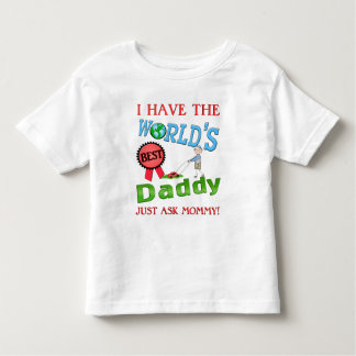 Best Dad Father's Day Toddler T-shirt