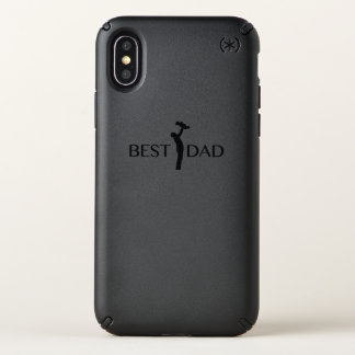 Best Dad  Gift For Father Day  Daddy Papa Speck iPhone X Case