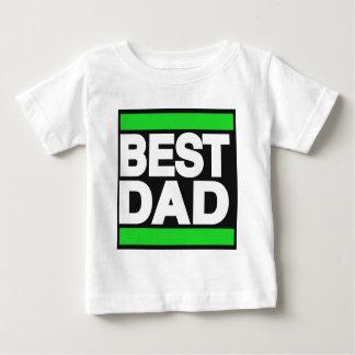 Best Dad Green Baby T-Shirt