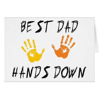 Best Dad Hands Down Gift Card