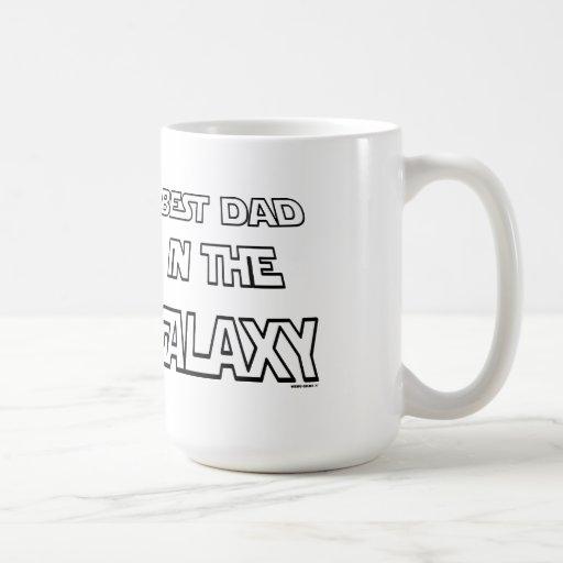 BEST DAD IN THE GALAXY COFFEE MUG