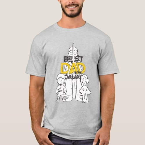 Best Dad in the Galaxy T_Shirt