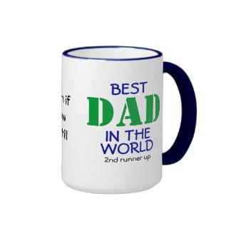 Best DAD in the world (almost) Ringer Mug