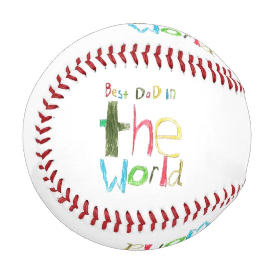 best dad in the world baseball