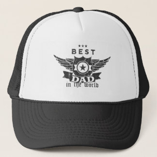 Best Dad in The World Father's Day Hat