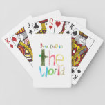 Best Dad In The World Playing Cards at Zazzle