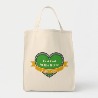Best Dad in the World Tote Bag