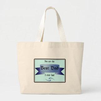 Best Dad Jumbo Tote Bag