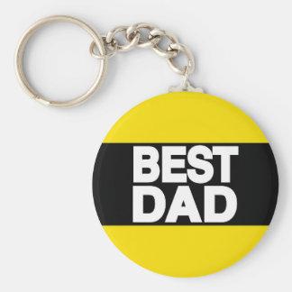 Best Dad Lg Yellow Key Chains