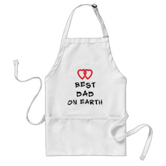 Best Dad On Earth Gift Adult Apron