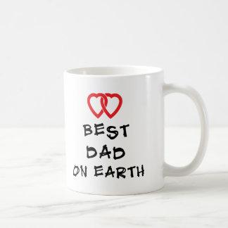 Best Dad On Earth Gift Coffee Mug
