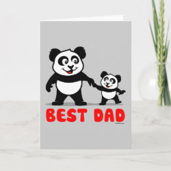 Standard Card with Best Dad design
