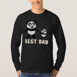 Men's Basic Long Sleeve T-Shirt with Best Dad design