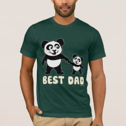 Best Dad Men's Basic American Apparel T-Shirt