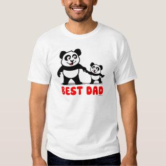 Best Dad Panda Tee Shirts