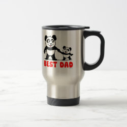 Travel / Commuter Mug with Best Dad design