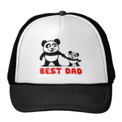 Trucker Hat with Best Dad design