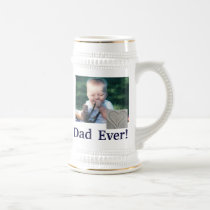 Best Dad Photo Stein