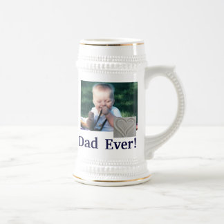 Best Dad Photo Stein Coffee Mug