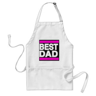 Best Dad Pink Adult Apron