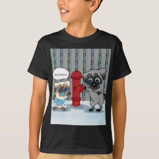 Best Dad Pug Father and Pug Baby personalizable T-Shirt