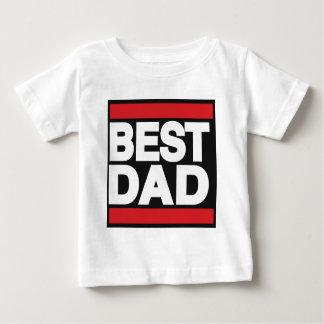 Best Dad Red Baby T-Shirt