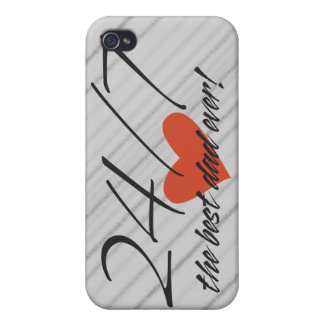 Best Dad Speck® Fitted™ Hard Shell iPhone Case