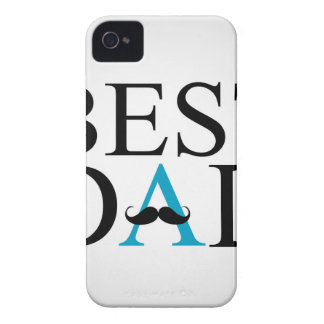 Best Dad with a mustache over A iPhone 4 Case-Mate Case