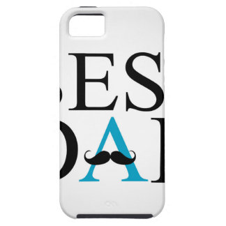 Best Dad with a mustache over A iPhone SE/5/5s Case
