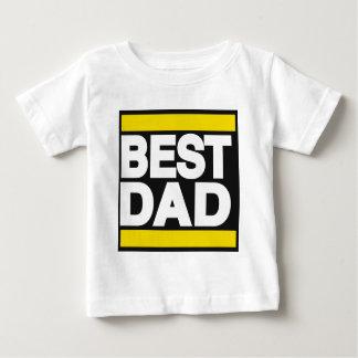 Best Dad Yellow Baby T-Shirt