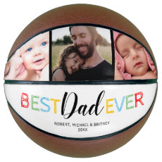 Best Daddy Ever | Fathers Day Photo Basketball